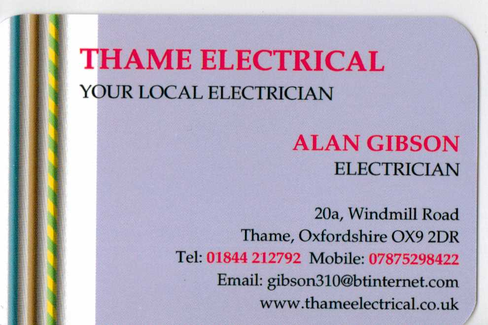 THAME ELECTRICAL